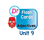 Adjectives Digital Flashcards Unit 9