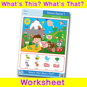 Whats this whats that worksheet picture search 1
