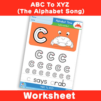 ABC To XYZ (The Alphabet Song) - Lowercase c