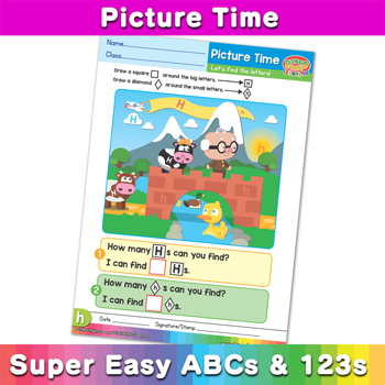 Picture Time ---Super-Easy-ABCs-and-123s