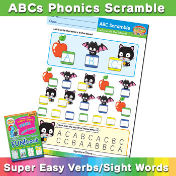 Free Phonics Scramble Worksheet