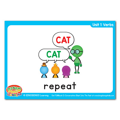 Verbs Flashcards 5 repeat