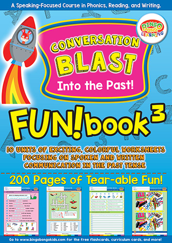 FUNbook3 Conversation Blast Into the Past