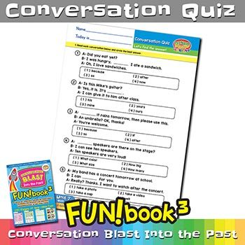 FUNbook3 Conversation Quiz 7