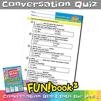 FUNbook3 Conversation Quiz 9
