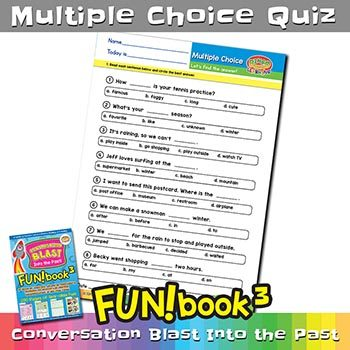 FUNbook3 Multiple Choice Quiz 4