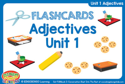 Free Adjectives Flashcards FUNbook3 Unit 1