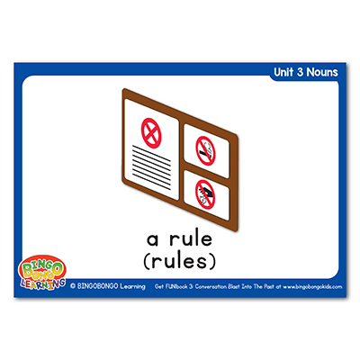 Free Nouns Flashcards 36 rules