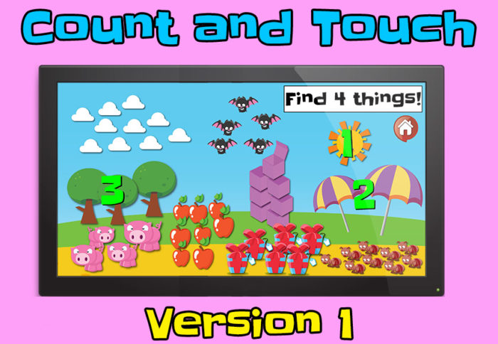 count and touch interactive pdf game 1