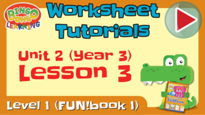 worksheet tutorial video l1 3 u2 l3