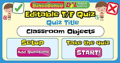 Classroom Objects True False Quiz Thumb 2