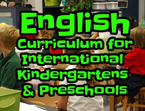 Effective English Curriculum for Kindergartens (3 Levels)