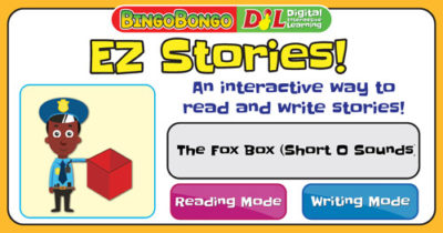 EZ Interactive Story Puzzles 07 The Fox Box Short O Sound Thumbnail