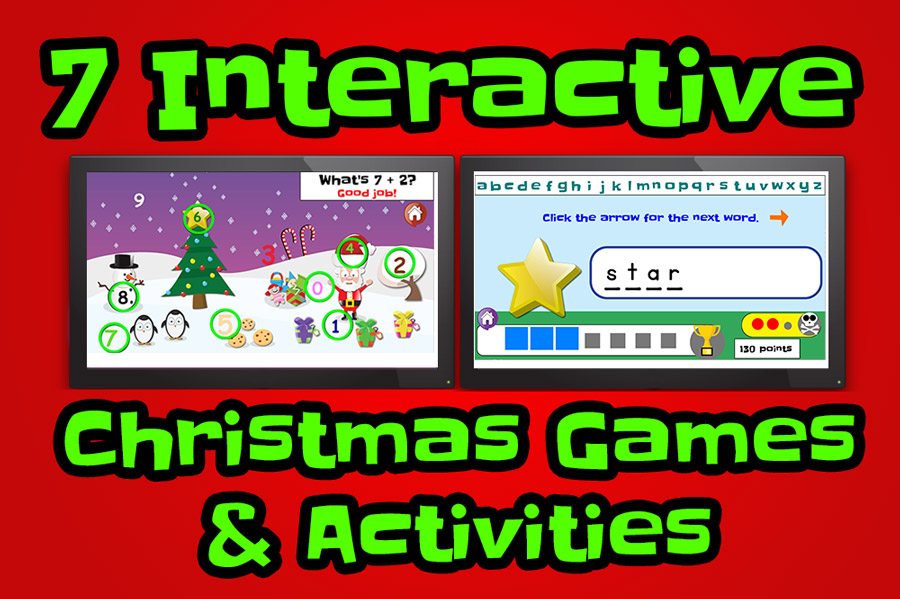 free interactive christmas games and activities