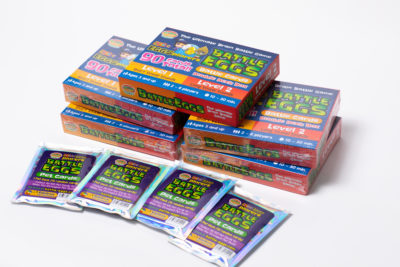 EFL ESL English Card Game Battle Eggs